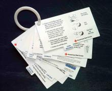 Medical Plastic Cards Set